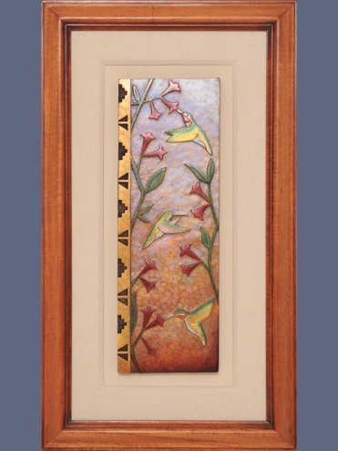 Hummingbird Plaque