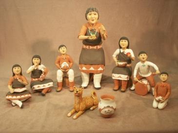 The Pueblo Story Teller - Full View