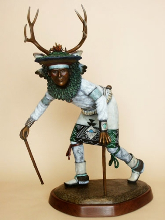 Pueblo Deer Dancer