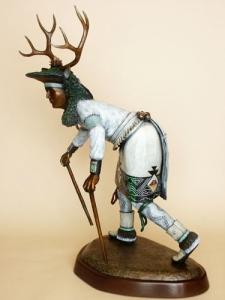 Pueblo Deer Dancer - Side