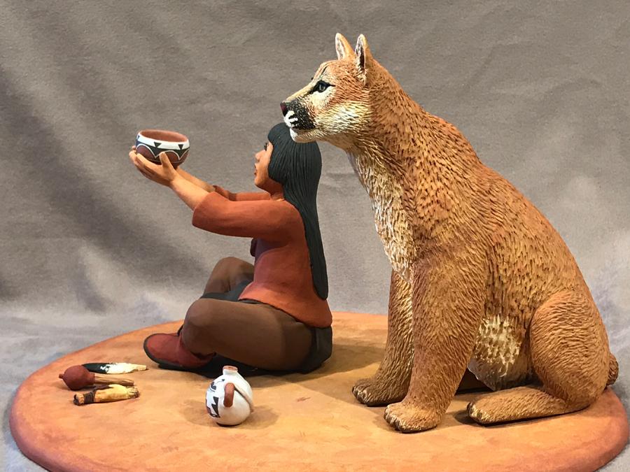 Cougar and Shaman Boy