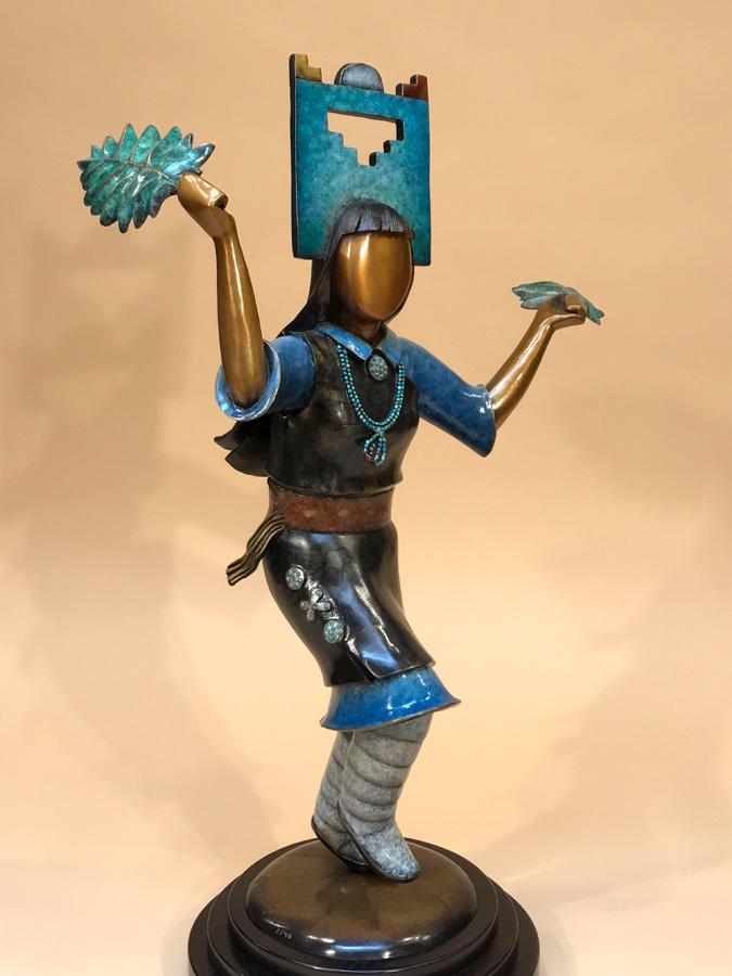 Pueblo Corn Dancer
