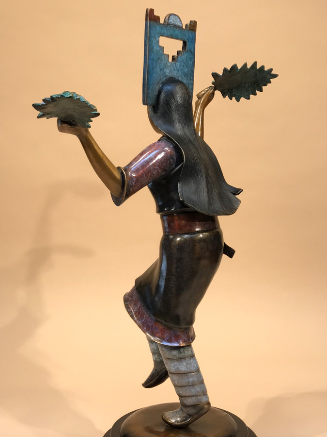 Pueblo Corn Dancer