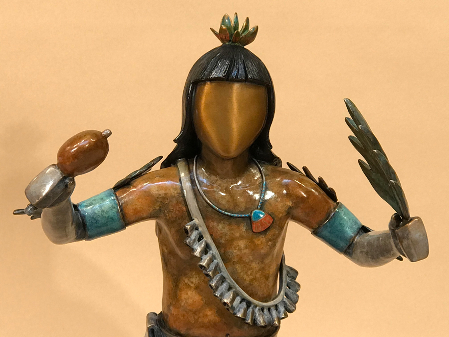Male Pueblo Corn Dancer